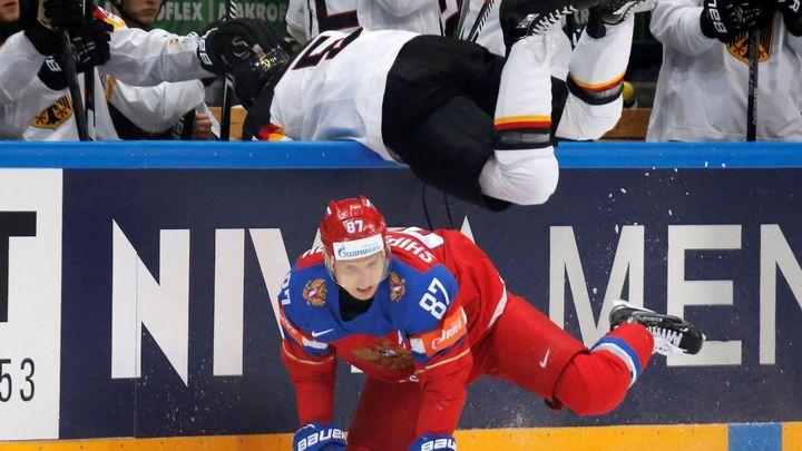 Živě: Rusko - Německo, o hokejové zlato si to favorizovaní Rusové rozdají s Německem