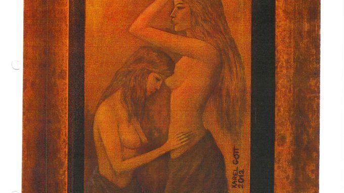 Ukradený Gottův obraz