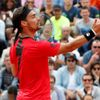 Fabio Fognini na French Open 2018