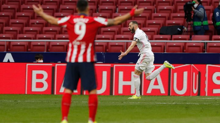 Madridské derby nemělo vítěze, Realu zachránil bod Benzema