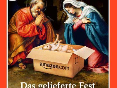 Tohle jsem si neobjednal, říká Josef při pohledu na Ježíška. Německý magazín šokoval vánoční obálkou