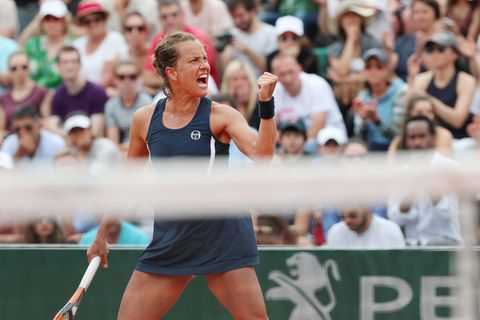 Barbora Strýcová ve 3. kole French Open 2018
