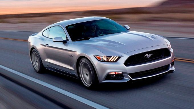 Ford Mustang 2014.