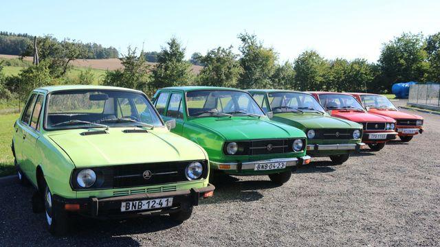 Jednou z typických barev pro tyto Škodovky byla zelená. ab44a048f3