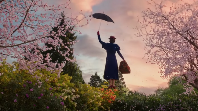 Mary Poppins se vrací (trailer)