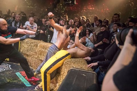 """Top Dog"" bare-knuckle boxing tournament in Moscow"