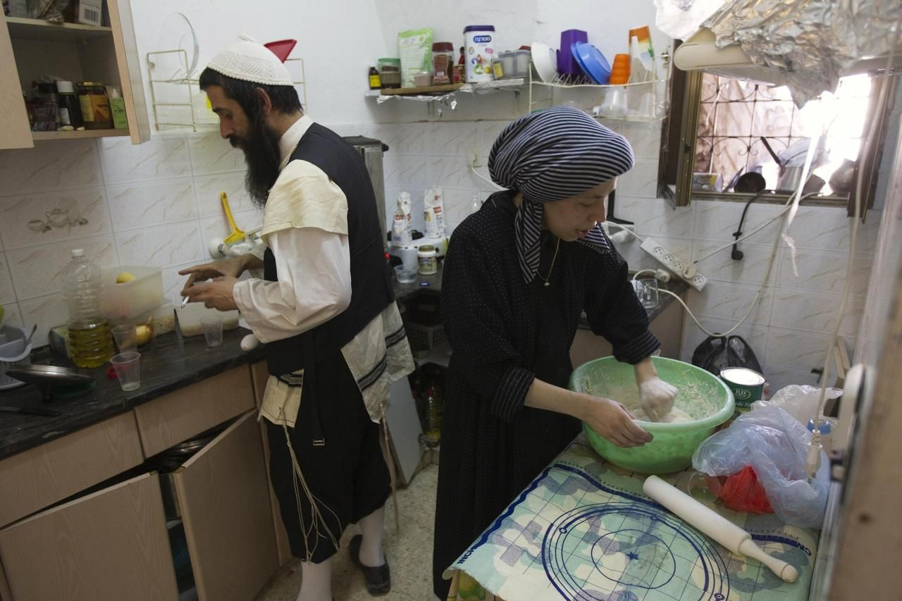 Randí s ortodoxním židovským mužem