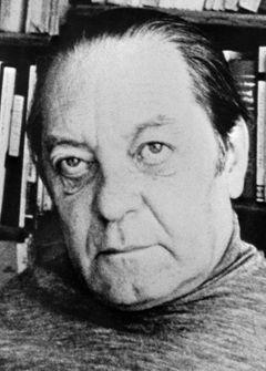 Teoretik a kritik Jindřich Chalupecký.