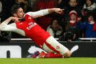 Premier League: Arsenal - Crystal Palace, Olivier Giroud slaví gól