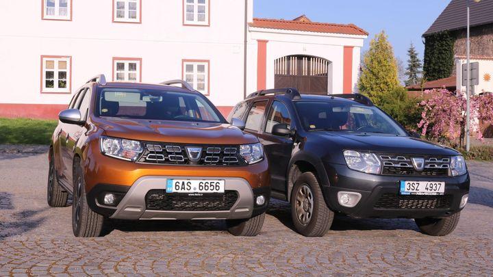 Srovnání: Nová Dacia Duster vs. první generace. V čem všem se rumunské SUV zlepšilo?