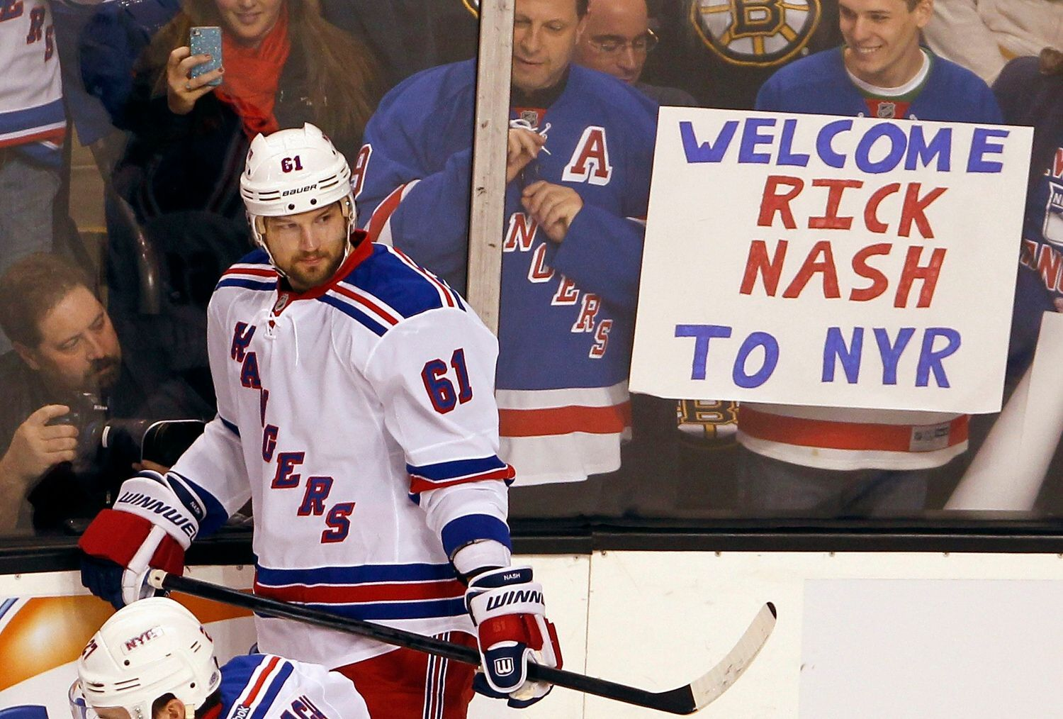 NHL, New York Rangers: Rick Nash