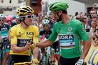Tour de France 2018 (21. etapa): Geraint Thomas a Peter Sagan