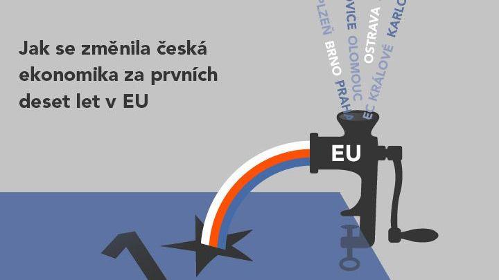 Deset let v EU: Česká ekonomika Západ nedohání