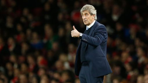 Arsenal-Manch. City: trenér City Manuel Pellegrini
