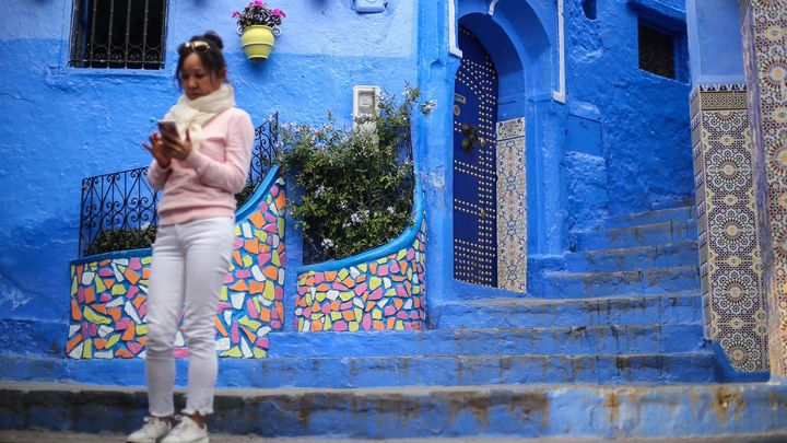 Fotopostřehy z Maroka 2: Modré město na drogách, hi-tech mešita i špinavá Casablanca