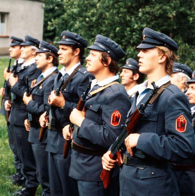 Výsledek obrázku pro lidové milice