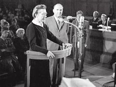 Milada Horáková was sentenced to death in 1950 in one of the most notorious show trials in the history of Czechoslovakia