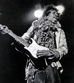 Na festivalu v Monterey, červen 1967.