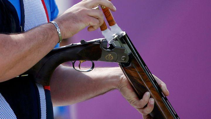 Střelec Jiří Lipták získal při obhajobě titulu na mistrovství Evropy v trapu stříbro; Zdroj foto: Reuters