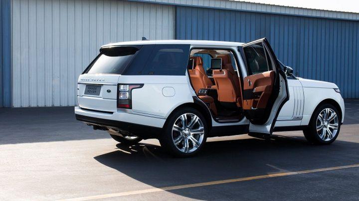 Nejluxusnější Range Rover narostl o 19 centimetrů