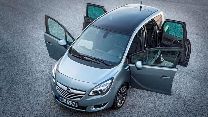"""Opel Meriva se nyní více """"směje"""". Malé MPV stojí 259 900 Kč"""