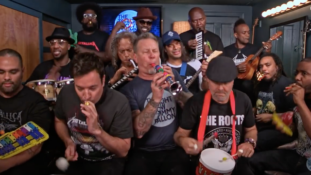 Jimmy Fallon, Metallica & The Roots