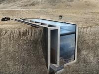 Unikátní dům v útesu se nakonec dočká realizace. Pomohl velký zájem médií