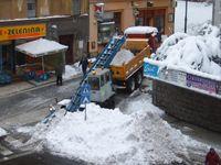 V Jablonci nad Nisou vyhlásili sněhovou kalamitu. Do ulic po letech nasadí Stalinovy ruce