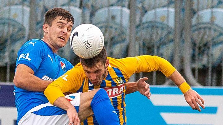 Opava čeká na výhru už deset zápasů, s Bohemians remizovala. Baník porazil Liberec