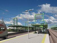 Foto: Největší železniční stavba v Praze začíná. Přinese nové zastávky a rychlejší vlaky
