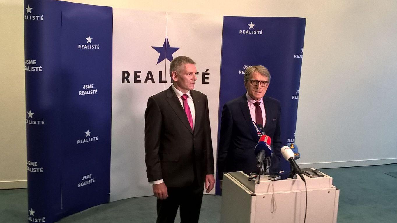 Jiří Hynek a Petr Robejšek