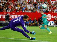 Vaclík proti Realu čaroval, Sevilla přesto prohrála po brance Benzemy
