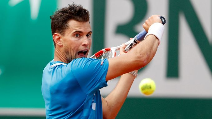 Dominic Thiem na French Open 2019.