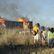 Filmové ateliéry na Barrandově v plamenech. Dřevěná Paříž k seriálu Knightfall lehla popelem