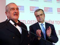 TOP 09 volí předsedu. Kalousek se v kandidátském projevu opřel do Babiše