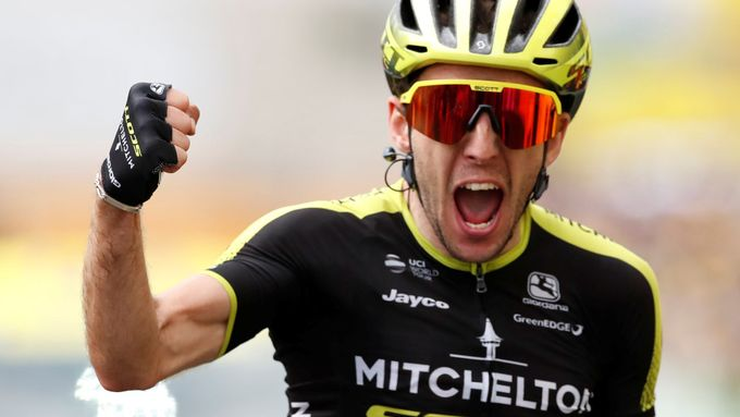 Simon Yates ve 12. etapě Tour de France 2019