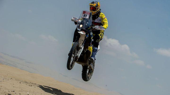 Motocyklista Brabec byl třetí v Hungarian Baja, Prokop pátý