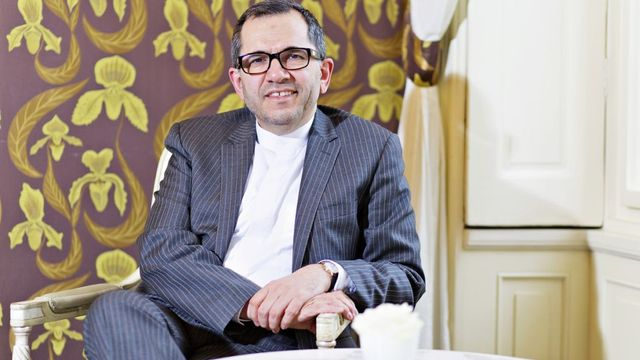 Iranian vice Foreign minister Majid Takht-Ravanchi on visit to Prague.
