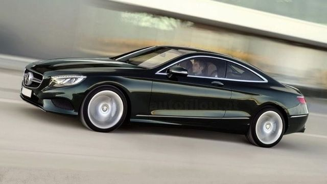 Mercedes-Benz S Coupe.