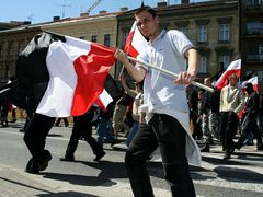 Ready to take law into their own hands (Neo-Nazi rally in Brno)