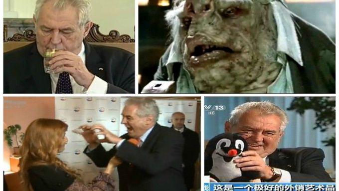 VIDEOGALERIE: Excesy prezidenta Zemana. A jejich parodie - Aktuálně.cz