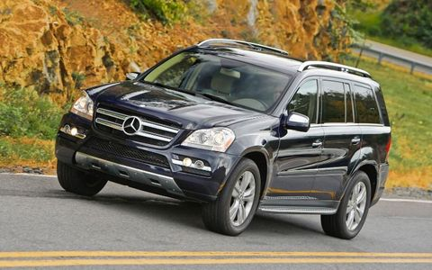 Mercedes-Benz GL (2013-2015)