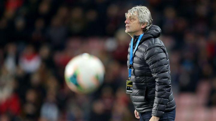 U fotbalistů poslední Karviné skončili trenér Weber s asistentem Baránkem; Zdroj foto: Milan Kammermayer