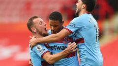 Sheffield United - West Ham United (Coufal, Haller, Fornals)