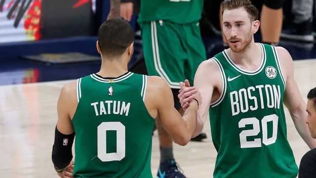 Boston Celtics v play off 2019: Jayson Tatum, Gordon Hayward