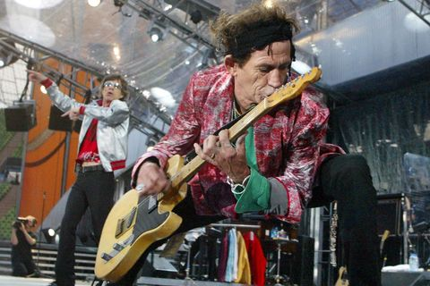 Keith Richards, 2003