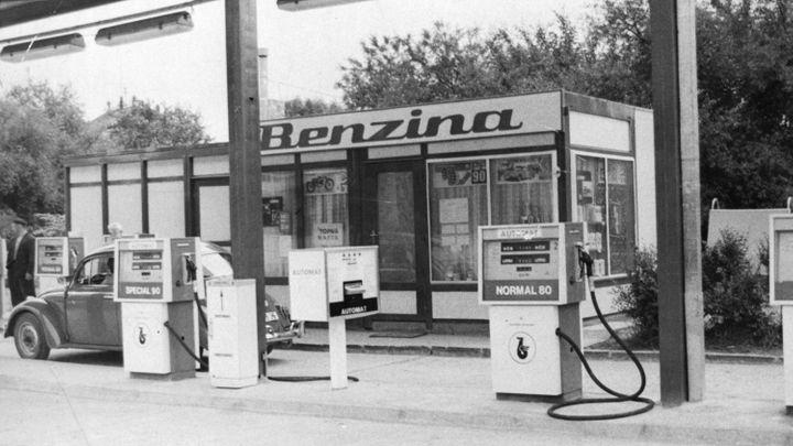Benzina oslavila poslední výročí. Fotky provází historií značky, kterou už nespatříte