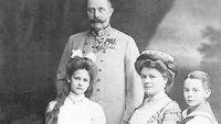 František Ferdinand D´Este s rodinou.