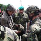 Děkujeme, prezidente Putine! zní z velení české armády