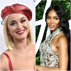 katy perry, naomi campbell, zena